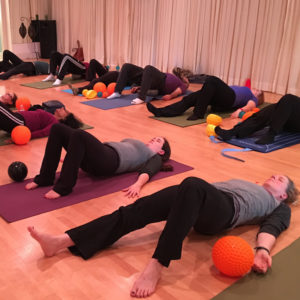 Massage Ball Stretch and Alignment