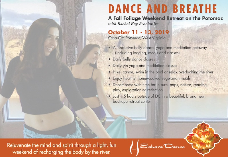 Dance and Breathe Fall Retreat 2019