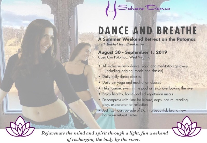 Dance and Breathe - Summer Retreat on the Potomac