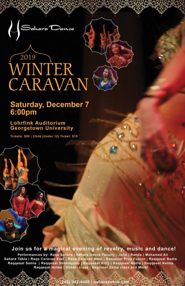 Sahara Dance Winter Caravan 2020